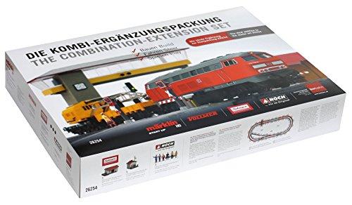 Märklin H0 26254 Die Kombi-Ergänzungspackung. Zug, Bahnübergang, Weichenantriebe, Signal, Gebäude
