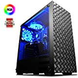 Vibox VBX-PC-5166 Centre 4x Gaming Desktop-PC (AMD Phenom Quad Core FX-4300, 8GB RAM, 2TB HDD, NVIDIA Geforce GTX 750, kein Betriebssystem) grün