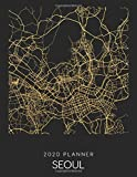 2020 Planner Seoul: Weekly - Dated With To Do Notes And Inspirational Quotes - Seoul - South Korea (City Map Calendar Diary Book, Band 289)
