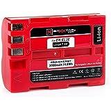 Baxxtar PRO Energy Akku für Nikon EN-EL3e (echte 2000mAh) mit Infochip (neueste Generation 100% kompatibel) zu Nikon D50 D70 D70s D80 D90 D100 D200 D300 D300S D700