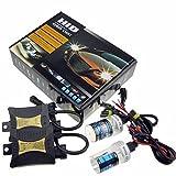 JINYJIA 12V 55W Xenon HID Conversion Kit de Phare pour le Remplacement pour Véhicules Ampoule, H7 / 8000K