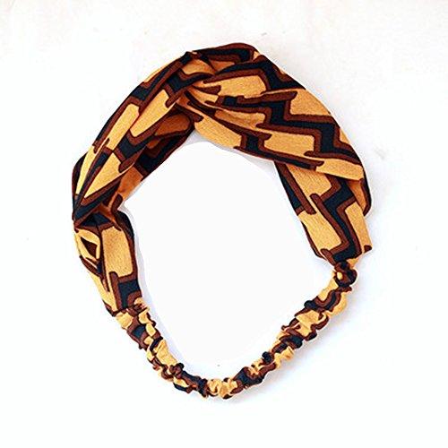, Kopfband, Frauen hoop Haarband Turban geknotet Kaninchen Haar Band Haarband (Mädchen Lsu Tigers)