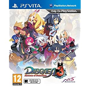 [UK-Import]Disgaea 3 Absence Of Detention Game PS Vita