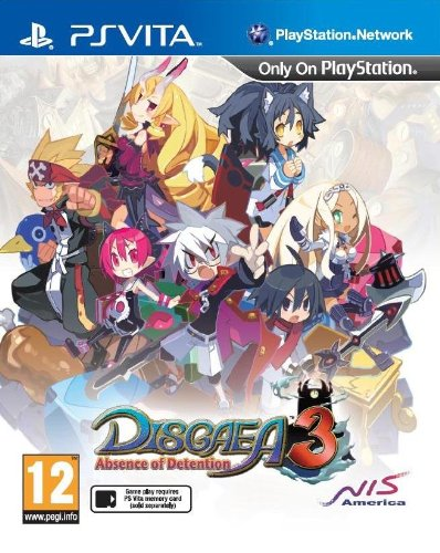 Disgaea 3: Absence of Detention (PS Vita) [Edizione: Regno Unito]