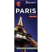Paris : plan de ville plastifié