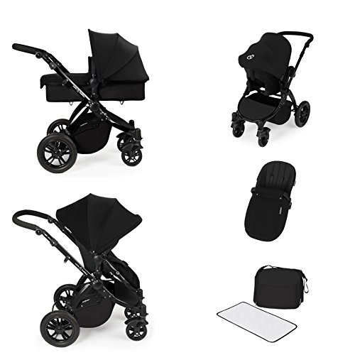 Ickle Bubba Stomp V2 All-in-One Travel System (Black) 51RShnpckZL