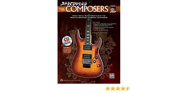 Shredding the Composers: Heavy Metal Guitar Meets 8 of the