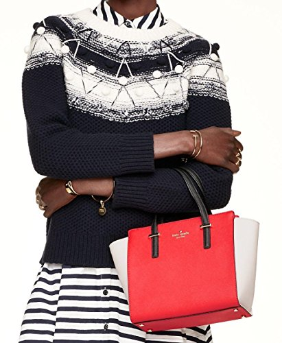 Kate Spade  Cedar Street Small Hayden, Damen Henkeltasche mehrfarbig mehrfarbig Small Red, white, and black