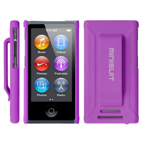 e Appnan7, lila (Ipod Nano 5. Generation Cover)