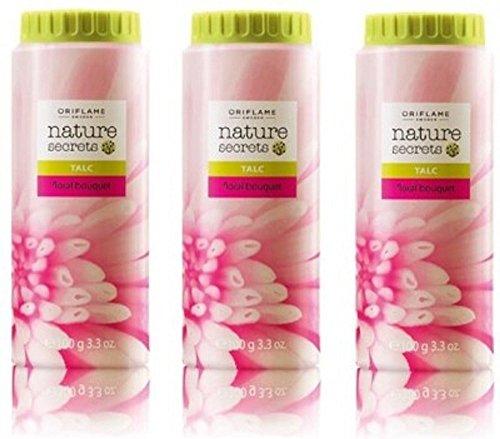 Oriflame Natural Secret Talc Floral Bouquet pack of 3