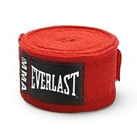 "EVERLAST PRO MMA HANDWRAPS RED :100"""