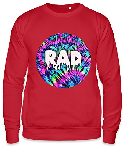 RAD FESTIVAL ALL OVER PRINT ACID TYE DYE DRUGS SWAG Unisex Sweatshirt XX-Large - Herren-tye-dye-t-shirt