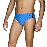 arena Herren Badehose Slip Hyper (Schnelltrocknend, UV-Schutz UPF 50+, Kordelzug, Chlor-/Salzwasserbeständig), Pix Blue-Black (815), 8