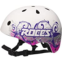 Roces - TATTOO AGGR. CASCO, casco superior agresivo, blanco/morado, S