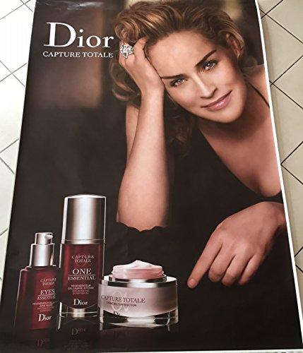 AFFICHE - Dior- Capture totale Sharon Stone - 120x175 cm - AFFICHE / POSTER