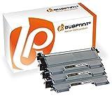 Bubprint 3 Toner kompatibel für Brother TN-2220 TN-2010 für DCP-7055 DCP-7065DN Fax 2840 HL-2130 HL-2270DW MFC-7360N MFC-7460DN MFC-7860DW 5.200 S.
