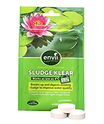 Envii Sludge Klear – Removes Pond Sludge & Unpleasant Odours Down To 4°C – Treats Up To 30,000 Litres