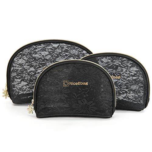 NiceEbag Conjunto neceseres 3 bolsas cosméticos organizadoras