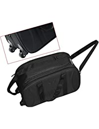 Travel Duffel Bag, Lightweight Waterproof Luggage, Cabin Bag Shoulder Bag For Travelling With Wheels -Black