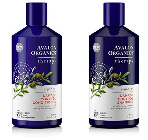 Avalon Organics Arganöl Shampoo und Spülung im Set (Organics Avalon Shampoo Bio)