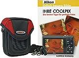 Progallio Foto-Tasche ADVENTURE X-TREME POCKET schwarz-rot plus Fotobuch IHRE COOLPIX für Nikon