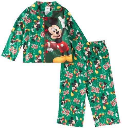 Preisvergleich Produktbild Disney Schlafanzug 98/104 Mickey Maus 2 teilig Nachtwäsche US Size 4 t boy pajama mouse Football