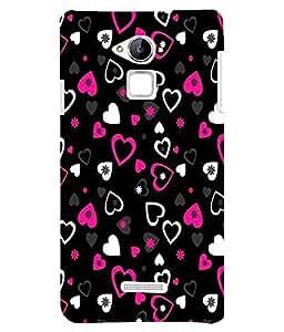 Citydreamz Heart\Love\Valentine Hard Polycarbonate Designer Back Case Cover For CoolPad Note 3