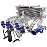 En alliage d'aluminium Support refroidisseur intermédiaire fmic avant pour Subaru Impreza newage GDA GDB WRX Sti Turbo