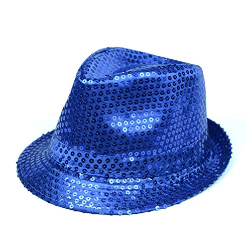 Chapeaux fedora et trilby Pare-Soleil/Chapeau Brillant de Performance de scène/Chapeau de Mode