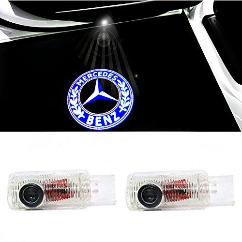 ColorBuy Türlicht Projektor Logo Tür Einstiegsbeleuchtung Einstiegslicht Autotür (Benz 2)