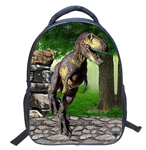 Dinosauro unisex Borse Ragazzo 3D a dinosauro Scuola Zainetti DoGeek multicolore tracolla per Stampa Zaini di Bambini nylon Sacchetto Scuola Zaini Ragazza 5 Zaino dR6nAAx4