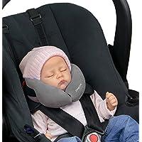 SANDINI SleepFix® Baby – Baby Schlafkissen/Nackenkissen mit Stützfunktion – Kindersitz-Zubehör für Auto/Fahrrad/Reise – Kopfstütze/Sitzverkleinerung/Verhindert das Abkippen des Kopfes im Schlaf