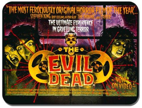 Preisvergleich Produktbild The Evil Dead Vintage Film Poster Mauspad. Classic Horror Film Maus Pad Geschenk