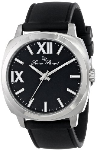 Lucien Piccard Women's LP-20032-01-BK St. Tropez Analog Display Japanese Quartz Black Watch