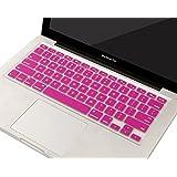 "SL HOT Pink MacBook Keyboard Skin Cover Apple MacBook Pro 13"" 15"" 17""/Air 13""/Retina 13"" 15"