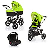ABC Design cobra 3-in-1 Travel System (argento & verde lime) immagine
