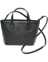 42d0b5a361 Trussardi Borsa Piccola Shopping Bag a Mano con Tracolla in Saffiano Vera  Pelle di Vitello – 24x16x8 Cm –…