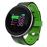 Fitness Tracker mit Pulsmesser, Enjoyall Activity Tracker mit IP68 wasserdicht, Schlaf-Monitor, Schrittzähler für Kinder Frauen Männer