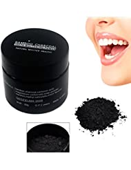 Oshide 20g Teeth Whitening Powder Clean Activated Charcoal Removing Dirt Stains Smoked Topaz Powder