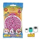 Perles à repasser Hama MIDI 5 mm Rose Pastel (n°48) x1000