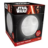 Star Wars Mood Light Death Star - Lámpara, 18 cm, color blanco
