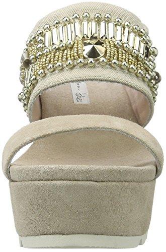 Tosca Blu Negroni, Chaussures Compensées Femme Beige (Sabbia)