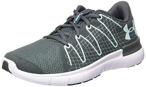 5993e19bf61 Under Armour Damen UA W Thrill 3 Laufschuhe Grau (Rhino Gray) 42.5 EU