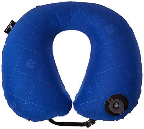 Eagle Creek Nackenkissen Exhale Neck Pillow leichtes Reisekissen für das Schlafen im Flugzeug mit Tragetasche, blue sea