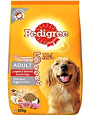 Pedigree Adult Dry Dog Food (High Protein Variant) – Chicken, Egg & Rice, 20 Kg Pack