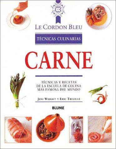 Descargar Libro Carne tecnicas culinarias (Le Cordon Bleu Tecnicas Culinarias / Le Cordon Bleu Culinary Techniques) de Unknown
