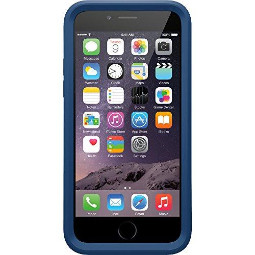 Otterbox My Symmetry transparente Schutzhülle inkl. austauschbarem Inlay für Apple iPhone 6 / 6s, grau blau