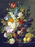 Clementoni 31415.7 -  Van Dael - Blumenvase, 1000 teilig
