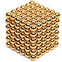5MM Gold  MAGCUBE 216 Bucky Balls Magnetic Spheres Puzzle