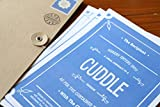#7: OyeHappy Romantic Cute Cuddle Contract gift for husband wife girlfriend boyfriend